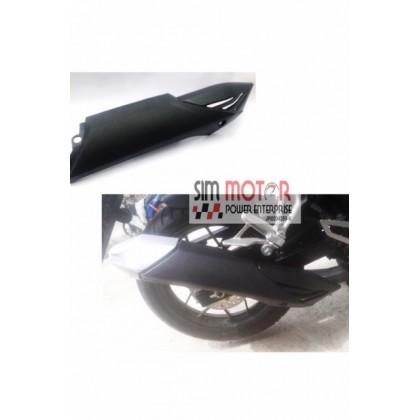 HONDA RS150R Muffler Cap Protector Cover Exhaust Standard.+ GEAR RUBBER KINGDRAG