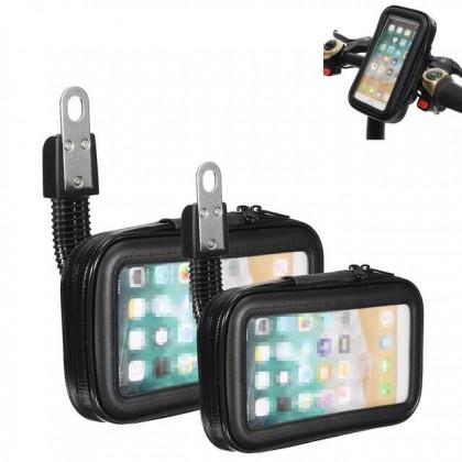Motorcycle Motorbike Phone Holder Waterproof Pouch Bag Y15ZR RS150R LC135 FZ150 kriss y16zr grab panda
