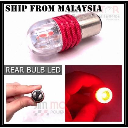 TAIL LAMP LIGHT BULB BRAKE FLASH LED  RS150 LC135 FZ150 RFS150  [SHIP FROM MALAYSIA] LED car signal light bulb.