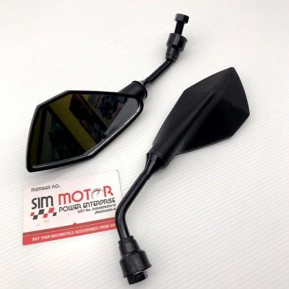 CERMIN Side Mirror RS150R VF3i W125 LC135 Y15ZR Y16ZR Y125ZR FZ150 NVX Vario EX5 Wave Dash MOTOR UMA RCB