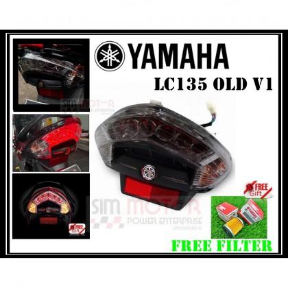 YAMAHA LC135 V1 X1R TAIL LAMP + FREE FILTER 1PCS