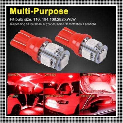 1PCS T10 12V LED BULB Y15ZR LC135 NVX155 NMAX155 R15 SRL115 FI AVANTIZ SOLARIZ EGO S RS150 RFS150 VF3i VARIO