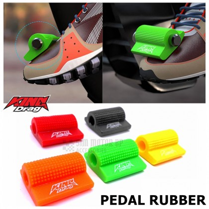 KINGDRAG Motorcycle Universal Gear PEDAL Lever Sock Shift Cover Rubber Getah Sarung Y15ZR RS150R LC135 VF3I