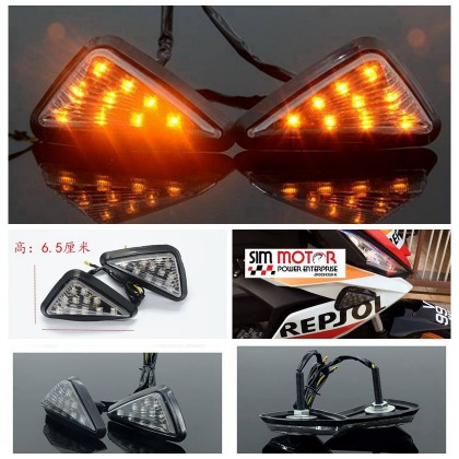 D28 LED Body Fairing Signal 54MM with Flasher Relay (R5-01)