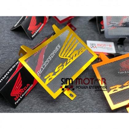 RS150 V1 V2 RADIATOR COOLANT NET ALLOY HONDA RS-150 RS150R-R ALLOY ATAS BAWAH TANGKI PROTECTOR.
