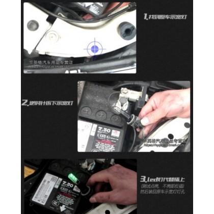 LED BULB REMOTE CONTROL MOTORCYCLE & CAR Y15ZR VF3I SYM YAMAHA LC135 V1 V2 V3 V4 V5 V6 EX5 RS150 HONDA NVX