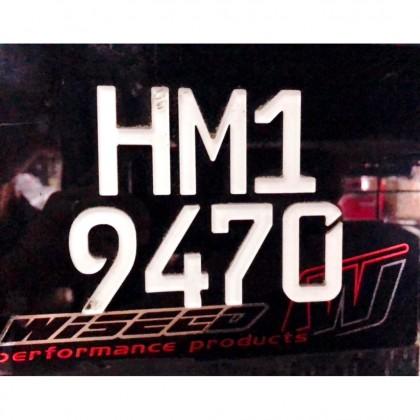 Y15ZR LC135 RS150R MOTORCYCLE UNIVERSL PLATE BESI MOTOR KETUK + FREE SCREW PLATE