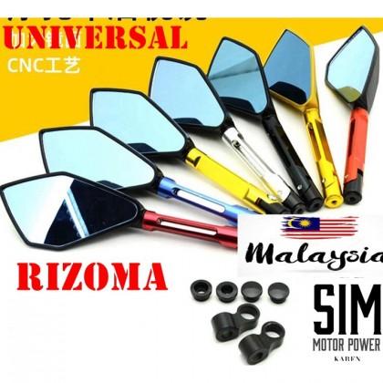 RIZOMA MINI SIDE MIRROR LC 135 Y15 ZR FZ150 R15 V3 LAGENDA NINJA250 Z800 Z250 SYM BENELLI RS150 EX5 CBR250 RCB Y16ZR