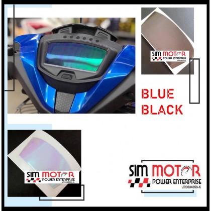 RS150R Y15ZR EX5 Meter Tint black blue