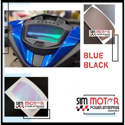 RS150R Y15ZR EX5 Y16ZR LC135 NVX SRL115 Y16Z SRL115 VARIO Meter Tint black blue