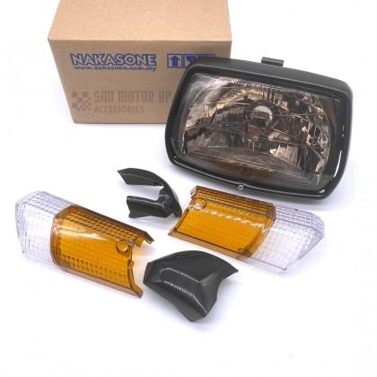 HONDA EX5 OLD Ex5 DREAM HEAD LAMP SIGNAL TAIL LAMP LAMPU LIGHT SIGNAL LAMPU BELAKANG