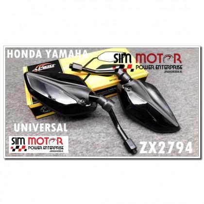 ZX2794 SIDE MIRROR HONDA YAMAHA+ FREE Full Face Cover BF09