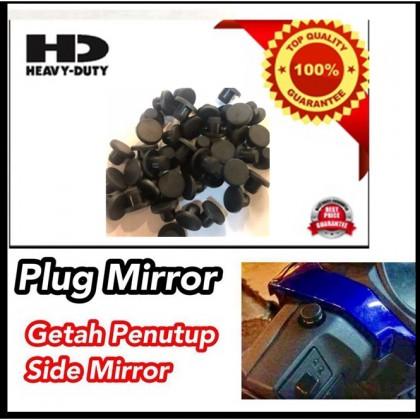 (1pc/1 biji) Rubber Plug Mirror / Getah Penutup Side Mirror  Y15ZR RS150R NVX NMAX LC135 SYM VARIO EX5 FZ150