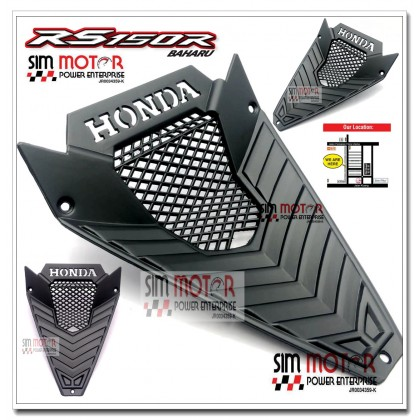 HONDA RS150R RS150 V1 V2 ENGINE COVER COOLANT [WINNER] + FREE SCREW ALLOY 2PC